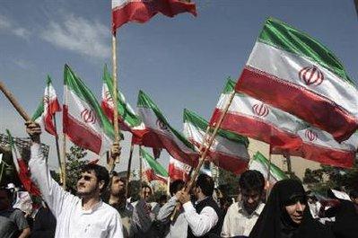 Ahmadinejad Supporters Rally