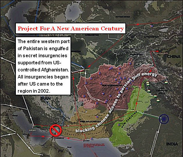 US Project against Pakistan