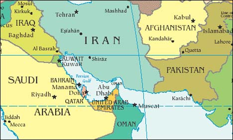 Iran Naval Base Near Gawadar Pakistan