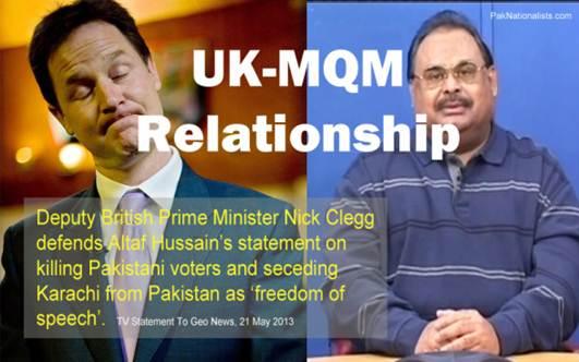 Britian & MQM Relationship