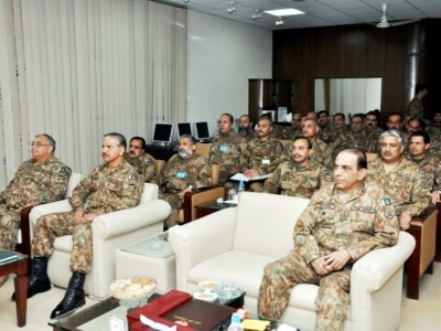 Pakistan Army COAS & Other Top Generals