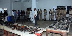 Weapons Recovery During Karachi Operation